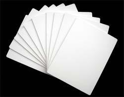 Plastic Divider Cards